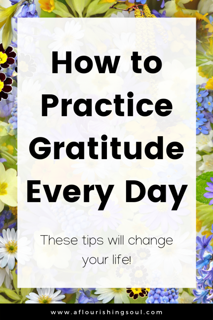 Looking for easy ways to practice being thankful? Check out this post for four simple ways to incorporate gratitude into your daily life! #positivity #gratitude