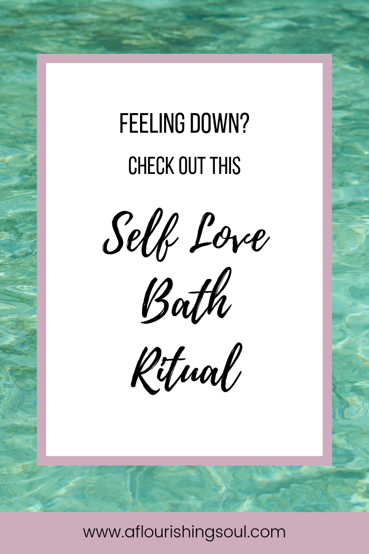 Practicing self love can be difficult. Check out this post, which gives you step-by-step instructions for a self love bath ritual to help boost your confidence and start loving yourself unconditionally #selflove #selfconfidence #bathritual #bathmagic