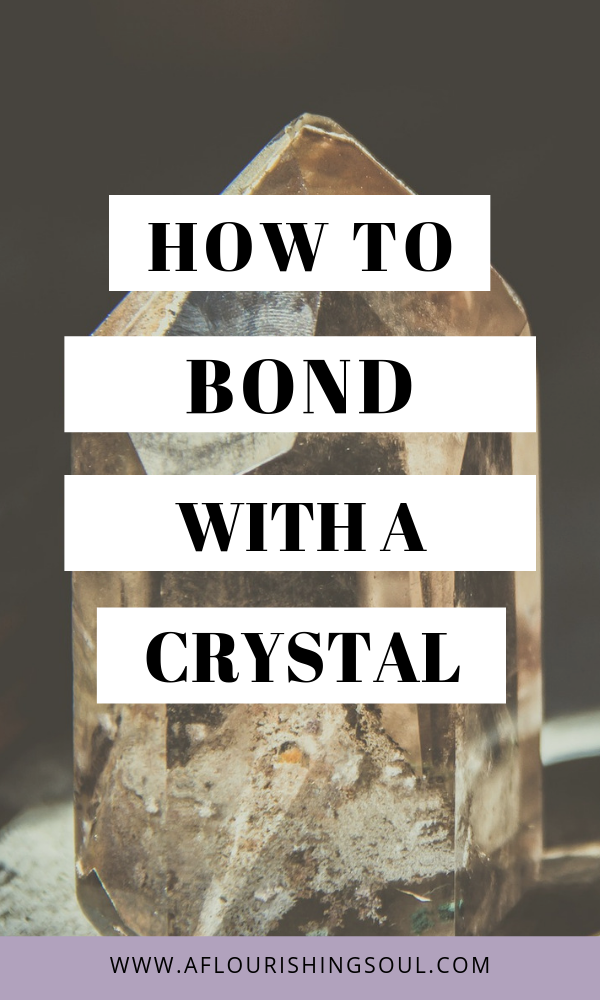 Crystal healing is more powerful and effective when using a crystal attuned to your energy. Check out this post for three easy ways to form a connection with a new crystal #crystal #crystalhealing #energywork #spirituality #spiritualpractice